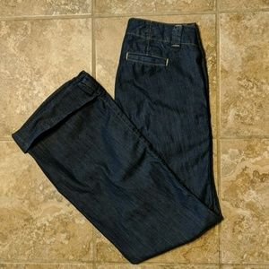 Banana Republic Urban Wide Leg Jeans Sz 6